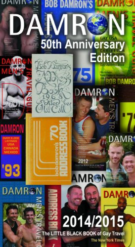 Damron Mens Travel Guide 50th Edition