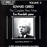 V 2: Complete Piano Music by EDVARD GRIEG (1994-05-17)