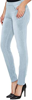 سروال نسائي من H&C ضيق قابل للتمدد للغاية مع خياطة داخلية صغيرة عادية وطويلة