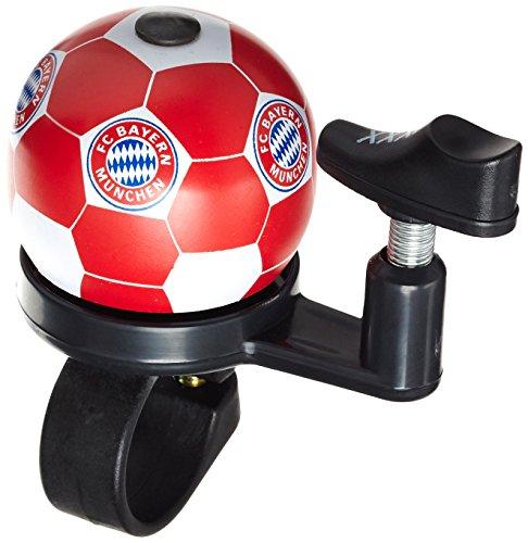 FanBike Fahrradklingel FC Bayern, weiß, 2 x 2 x 6 cm