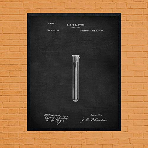 Posters Vintage Movie Laboratory Test Tube Chemistry Gift Chemistry Lab Chemistry Vintage Science Art Microscope Art Science Student Laboratory Decor