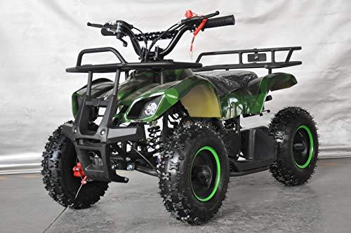 Mini quad infantil Humer camuflaje/mini quad para niños con motor de 49cc 2 tiempos (VERDE)