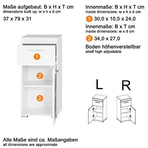 Badezimmer 5-teilige Set Kombination Amanda Bild 5*