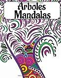 Arboles Mandalas: Libro para colorear para adultos y adolescentes | Mandala | Antiestrés, relajación | Gran formato, 21,6x28 cm.