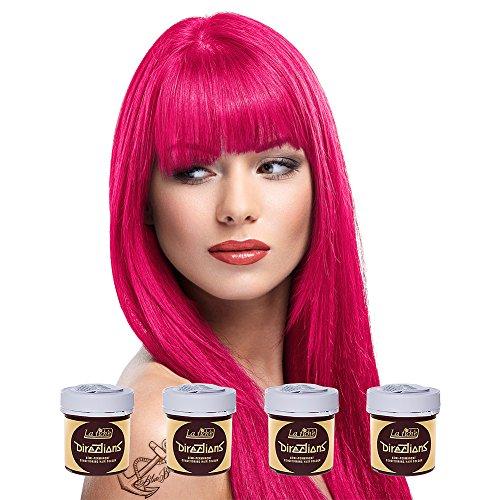 La Riche Directions Semi Permanent Tulip Hair Colour Dye x 4