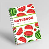 NOTEBOOK NO.22: NOTEBOOK FOR WEIGHT LOSS PLAN WITH VIVID WATERLEMONS COVER, IS A