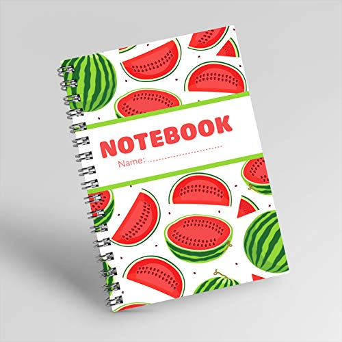NOTEBOOK NO.22: NOTEBOOK FOR WEIGHT LOSS PLAN WITH VIVID WATERLEMONS COVER, IS A GREAT GIFT ON VALENTINE'S DAY AMD WOMEN'S DAY SIZE 6X9 INCHES, 200 PAGES. (English Edition)
