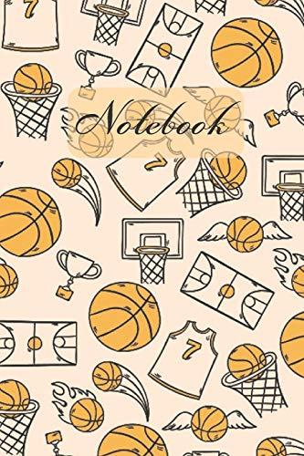Notebook: Basketball Sports (Eggshell Cover) Diary / Notes / Track / Log / Journal , Book Gifts For Women Men Kids Teens Girls Boys Friends 6x9