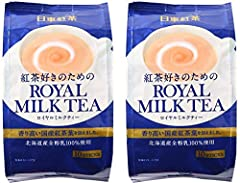 You will receive (2) Nitto Royal Milk Tea 10p 4.9oz (140g) Premium Japanese Milk Tea Enjoy this delicious Japanese Milk Tea with family, friends and loved ones Each bag (individually wrapped 10packs) Net Wt. 4.9oz