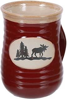 moose pottery mug