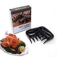 バーベキュー肉爪 熊の爪・バーベキューに・肉をつかむ 押さえる バーベキュー 肉爪 BBQ キャンプ 肉料理 野菜/鶏肉/魚料理 プルドポーク混ぜる キッチン用 (プラスチック 2個セット)