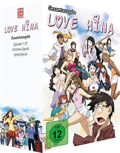 Love Hina - Gesamtbox (9 DVDs)