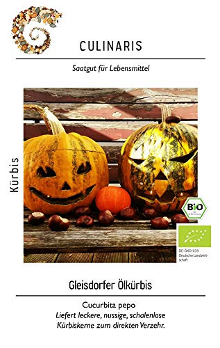 Culinaris 056 Gleisdorfer Ölkürbis (Bio-Ölkürbissamen)