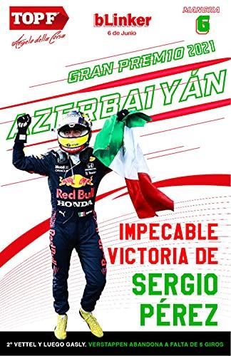 Revista de Fórmula 1 bLinker: Gran Premio de Azerbaiyán 2021 (Spanish Edition)