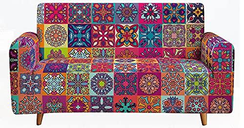Cubierta Forros para Sofas,Juego de sofá mágico Antideslizante, Adecuado para sofá, sofá en Forma de L, sofá en Forma de U, el tamaño Puede ser personalizable-A03_90-140CM