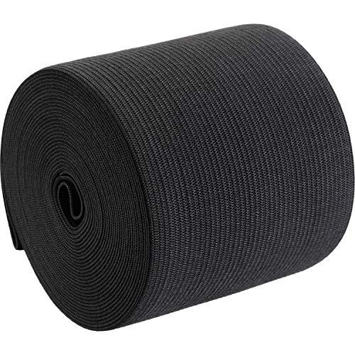 eBoot Elastic Spool (3 Inch x 5 Yard,Black)