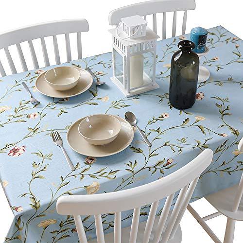 Katoen en Linnen Tafelkleed Stoffen Verdikking Kleine Verse Tafelkleed Koffie Tafelkleed Rustieke Stijl Woonkamer Decoratie Tafelkleed Cover Handdoek