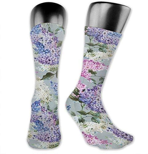Nifdhkw Calcetines de compresión de ramas de flores y hojas, calcetines atléticos para mujeres y hombres, mejor médico, lactancia, correr, viajes de vuelo, embarazadas