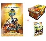 Panini Tin Box 50 Cartas Fantasy Riders + MEGAPACK Lanzamiento Fantasy Riders + 7 Sobres