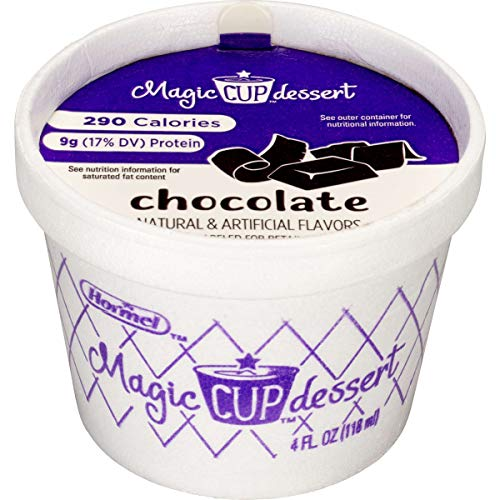 Magic Cup Fortified Nutrition Chocolate Snack, 4 Ounce -- 48 per case.