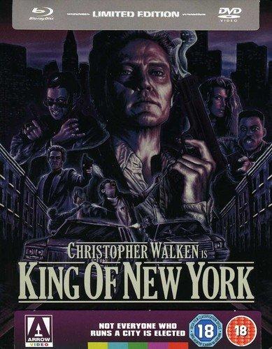 King of New York (Arrow Video) Limited Edition SteelBook [Dual Format Edition] [DVD + Blu Ray] [Blu-ray] [1990] [Reino Unido]