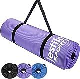 Best Quality Yoga Mats - Jestilo Yoga Mat for Women and Men| Non-slip Review