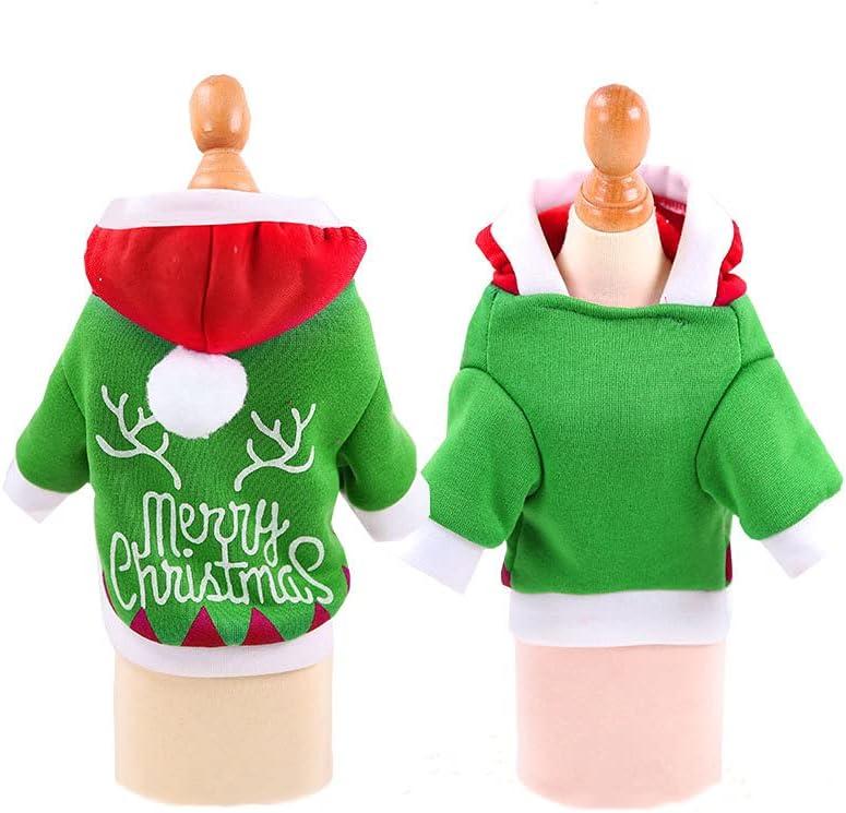 Dog Basic Sweater Coat Cute Christmas Shape gift Weekly update Pet Jacket Cold Warm