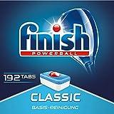 Finish Classic Spülmaschinentabs, phosphatfrei – Geschirrspültabs mit Powerball für die...