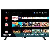 Skyworth S3G 32-Inch 720P HD Smart LED TV, Quad-CORE Android TV with Voice Control, Google Assistant...