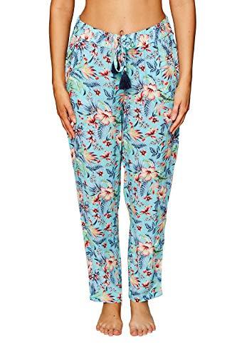 ESPRIT Strand-Pants mit Buntem Sommer-Print