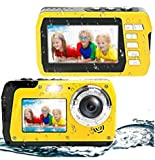Best Cheap Point And Shoot Cameras - Waterproof Camera Underwater Digital Camera 48MP 2.7K Waterproof Review