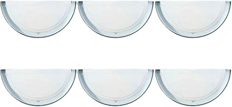 3 x Eglo 83156 Planet1 Wall Uplighter Fittings 60W ES Polished Chrome