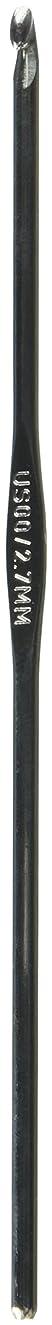 HA Kidd Susan Bates 12205-00 6-Inch Steelite Crochet Hook, 2.7mm