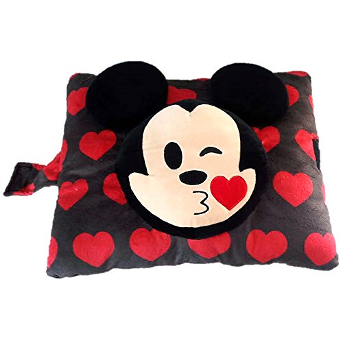 Pillow Pets Disney Mickey Mouse Emoji Super Soft Stuffed Animal Plush Toy Pillow