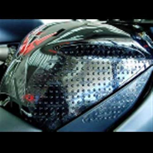Stompgrip Yamaha YZF-R1 07-08 Traction Pad Tank Kit - Black by Stomp Design