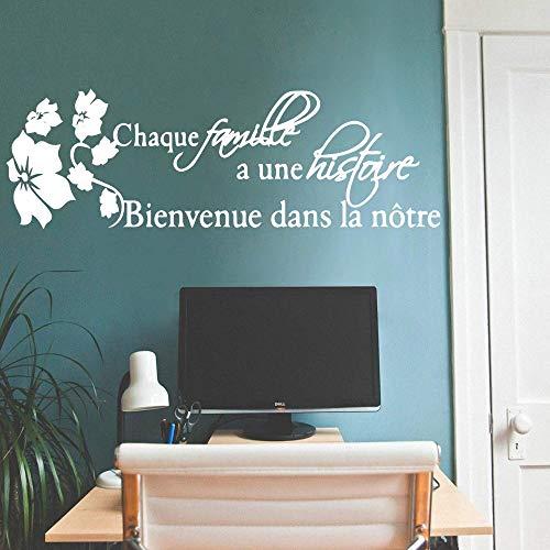 yaonuli Schöne spanische Vinyl Küche Wandaufkleber Schlafzimmer Dekoration für Kinderzimmer Wohnkultur 162x52cm