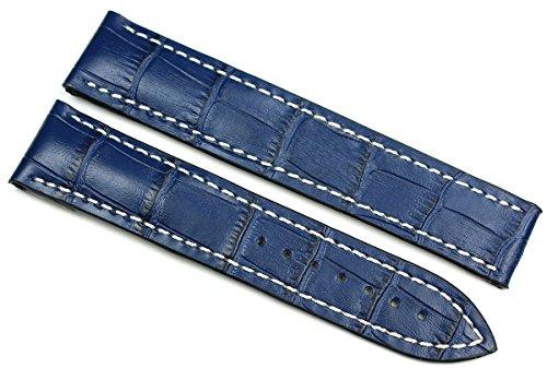 Rios1931 20 mm/18 mm Cinturino per orologio in vera pelle fatto a mano...