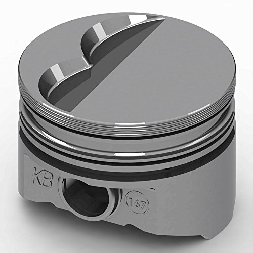 KB Performance Pistons KB167.030 +5cc Flat Top Piston Set for Small Block Mopar
