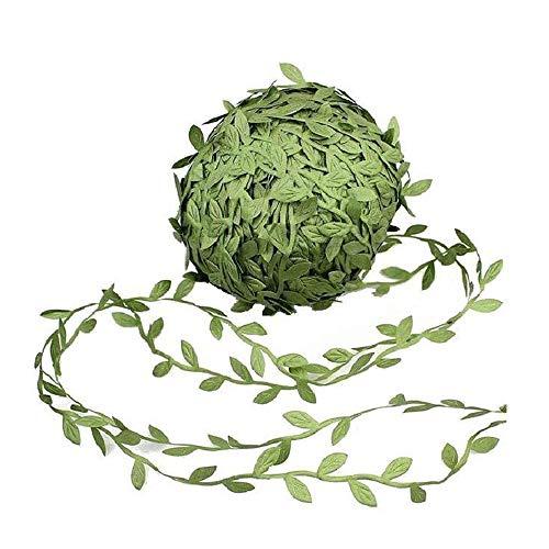 Gesh Guirnalda de hojas artificiales de eucalipto artificiales de 252 pies, para manualidades, selva silvestre griega, decoración para el hogar, pared, jardín, boda, fiesta, coronas