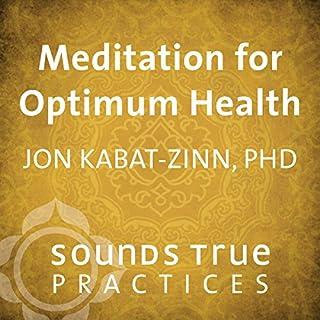 Meditation for Optimum Health cover art