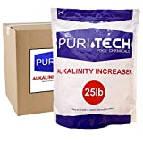 Puri Tech Pool Chemicals 25 lb Total Alkalinity Increaser Plus for Swimming Pool Water Increases Total Alkalinity Prevents Water from Cloudiness or Scaling
