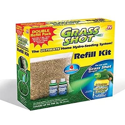 Grass Shot - The Ultimate Home Hydro Seeding System