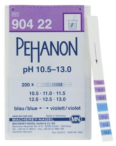 Macherey-Nagel, 90422, Pehanon pH 10.5-13.0, Box of 200 Strip