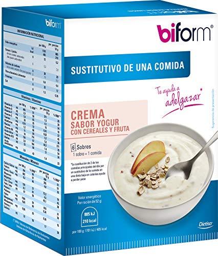 Dietisa - biform - Sustitutivos para Adelgazar - Crema Yogur Cereales 312 gr