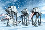 Star Wars Poster - At-At Walkers In The Frozen Hoth Landscape 36x24 Poster Movie Art Print