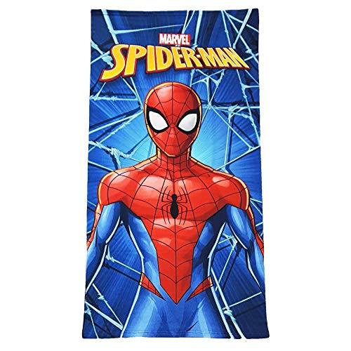 Generico Telo Mare Spiderman Marvel Asciugamano in MICROCOTONE CM. 140X70 100%PL - SP086