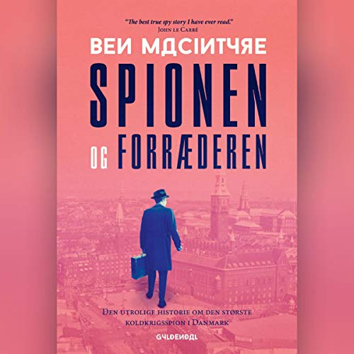 Spionen og forræderen audiobook cover art