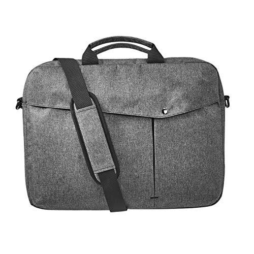 Amazon Basics – Businesstasche für Laptop, 43,18 cm, grau