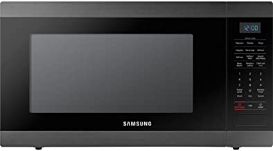 Samsung MS19M8020TG 1.9 Cu. Ft. Black Stainless Countertop Microwave for Built-In Application MS19M8020TG/AA
