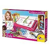 Lisciani Barbie Taller de Moda, con muñeca incluida-88645-Juego Creativo para niñas a Partir de 4 años (88645)